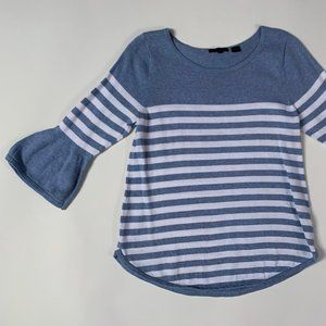 Jeanne Pierre Striped Sweater